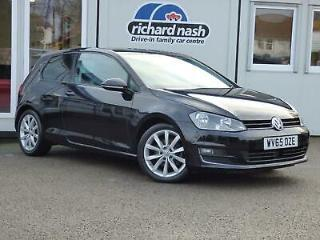 2015 Volkswagen Golf 2.0 TDI GT 3dr Diesel black Manual