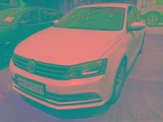 White 2015 Volkswagen Jetta Highline TDI AT 73000 kms driven in Wakad