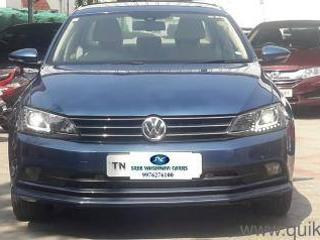 Blue 2015 Volkswagen Jetta Highline TDI AT 41,000 kms driven in Tatabad