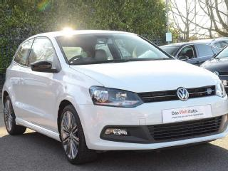 Volkswagen Polo 1.4 TSI ACT BlueGT 3dr Hatchback 2015, 47583 miles, £9990