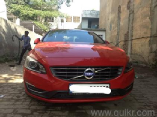 Red 2015 Volvo S60 Summum D5 70000 kms driven in Model Town
