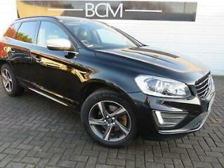 2015 Volvo XC60 2.0 D4 R Design Nav Geartronic s/s 5dr Diesel black Automatic