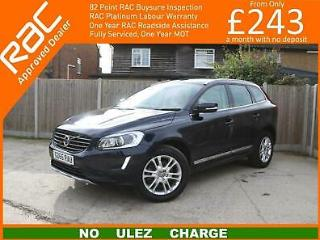 2015 Volvo XC60 2.4 D5 SE Lux Nav Geartronic AWD 5dr AUTO Sat Nav Rear Cam With