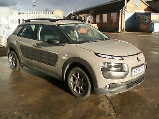2016/16 Citroen C4 Cactus 1.2 PureTech s/s ETG DAMAGED REPAIRABLE SALVAGE
