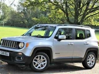 2016 16 JEEP RENEGADE 1.6 LONGITUDE 5D 108 BHP