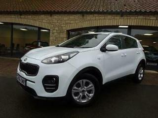 2016 16 Kia Sportage 1.7CRDi 1 BLUETOOTH, £30 ROAD TAX