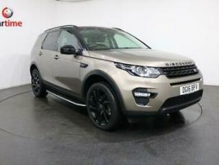 2016 16 LAND ROVER DISCOVERY SPORT 2.0 TD4 HSE BLACK AUTO 4WD 5D AUTO 180 BHP SA
