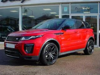 2016 16 Land Rover Range Rover Evoque 2.0 Td4 HSE Dynamic 5dr Auto, Red, 45k