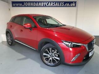 2016 16 Mazda CX 3 Sport Nav 2.0 120ps 5 Door Soul Red 1 Owner
