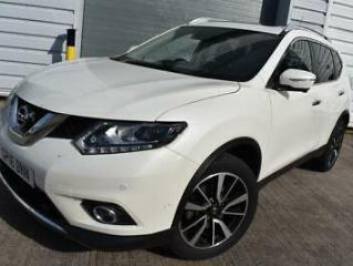 2016 16 NISSAN X TRAIL 1.6 DIG T TEKNA 5D 2 OWNER CAR 7 SEATS PANORAMIC ROOF HEA