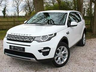 2016 65 Land Rover Discovery Sport 2.0TD4 4X4 Auto HSE
