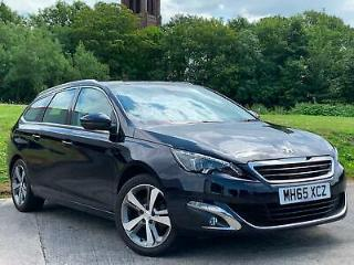 2016 65 Peugeot 308 SW 1.2 PureTech 130bhp Allure for sale in AYRSHIRE
