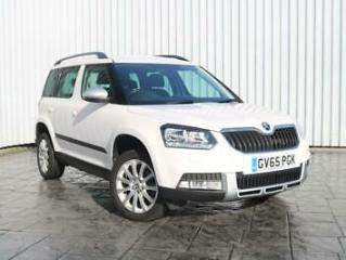 2016 65 SKODA YETI 1.2 TSI SE OUTDOORS DSG SEMI AUTOMATIC 5DR WHITE