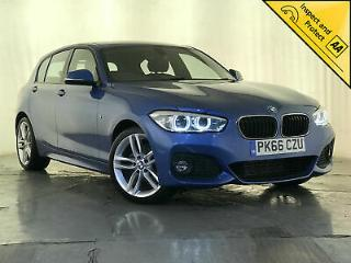 2016 66 BMW 118D M SPORT SAT NAV CLIMATE CONTROL 1 OWNER SVC HISTORY