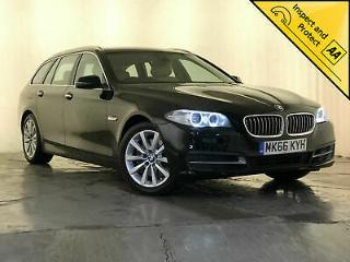 2016 66 BMW 525D SE AUTO REAR HEATED SEATS CREAM INTERIOR NAV SERVICE HISTORY