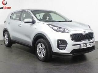 2016 66 KIA SPORTAGE 1.6 1 5D 130 BHP AIR CON ALLOYS ONE OWNER BLUETOOTH DAB DIG