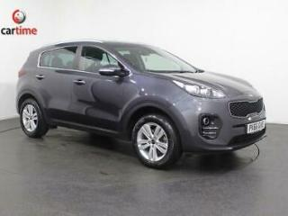 2016 66 KIA SPORTAGE 1.6 2 ISG 5D 130 BHP SAT NAV BLUETOOTH CONNECTIVITY DAB DIG