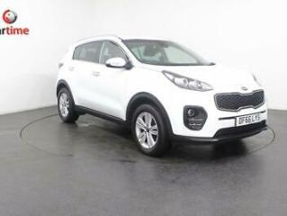 2016 66 KIA SPORTAGE 1.6 2 ISG 5D 130 BHP SAT NAV BLUETOOTH PRIVACY GLASS REVERS