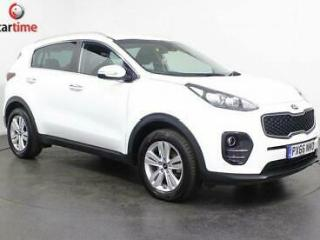 2016 66 KIA SPORTAGE 1.7 CRDI 2 5D 114 BHP SAT NAV BLUETOOTH PRIVACY GLASS REAR