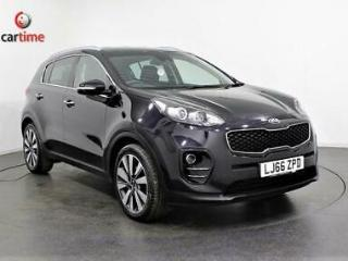 2016 66 KIA SPORTAGE 2.0 CRDI KX 3 5D AUTO 134 BHP SAT NAV HEATED LEATHER SEATS