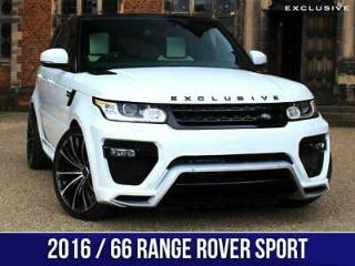 2016 66 Land Rover Range Rover Sport EXCLUSIVE AERO Edition