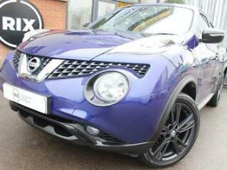 2016 66 NISSAN JUKE 1.5 N CONNECTA DCI 5D 1 OWNER 20 ROAD TAX HALF LEATHER BLUET