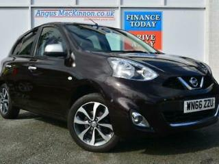 2016 66 NISSAN MICRA N TEC 1.2 PETROL 5DR HATCHBACK WITH GREAT HIGH SPEC AND BRI