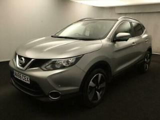 2016 66 NISSAN QASHQAI 1.2 N CONNECTA DIG T 5D 1 OWNER PANORAMIC ROOF HEATED BLA