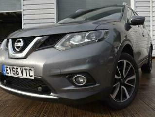 2016 66 NISSAN X TRAIL 1.6 DCI TEKNA 5D 1 OWNER 7 SEATS PANORAMIC SUNROOF HEATED