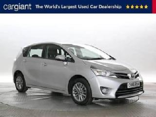 2016 66 Reg Toyota Verso 1.6 V matic Icon Silver MPV PETROL MANUAL