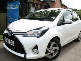 2016 66 Toyota Yaris 1.5 VVT I ICON M DRIVE S White Automatic Only 13000 Miles