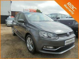 2016 66 VOLKSWAGEN POLO 1.0 MATCH 5DR 60 BHP FINANCE WITH NO DEPOSIT AND NOTHING