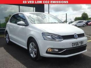 2016 66 VOLKSWAGEN POLO 1.2 TSI BLUEMOTION TECH MATCH S/S 5DR