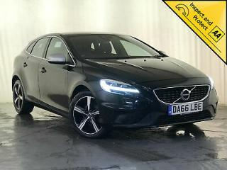 2016 66 VOLVO V40 R DESIGN D2 SAT NAV LEATHER HEATED SEATS 1 OWNER SVC HISTORY