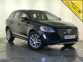 2016 66 VOLVO XC60 SE LUX NAV D5 AWD HEATED CREAM LEATHER 1 OWNER SVC HISTORY