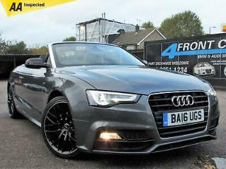 2016 AUDI A5 2.0 TDI S LINE SPECIAL EDITION PLUS 2DR CONVERTIBLE AUTOMATIC DIESE