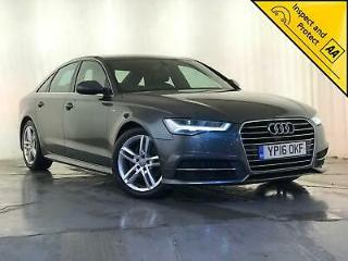 2016 AUDI A6 S LINE TDI ULTRA LEATHER HEATED SEATS SAT NAV 1 OWNER SVC HISTORY