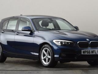 BMW 1 Series 118d SE 5dr [Nav] Step Auto Hatchback 2016, 65141 miles, £10999