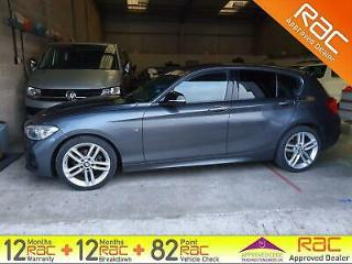 2016 BMW 1 SERIES 118d M Sport Nav Start Stop Grey Manual Diesel