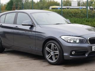 BMW 1 Series 116d Sport 5dr Step Auto Hatchback 2016, 18709 miles, £12299