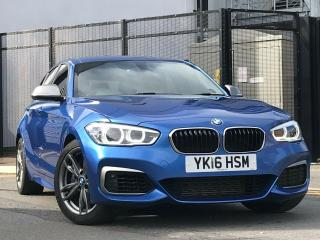 2016 BMW 1 Series 3.0 M135i Auto s/s 5dr, Pro Nav, Black Leathers
