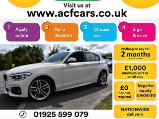 BMW 1 Series 116d M SPORT CAR FINANCE FR £48 PW Hatchback 2016, 51000 miles, £10490