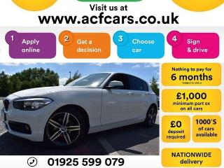 BMW 1 Series 118i SPORT CAR FINANCE FR £44 PW Hatchback 2016, 42000 miles, £9490