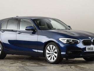 BMW 1 Series 118d SE 5dr [Nav] Step Auto Hatchback 2016, 25568 miles, £12993