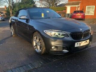 2016 Bmw 218i M Sport Damaged Repaired