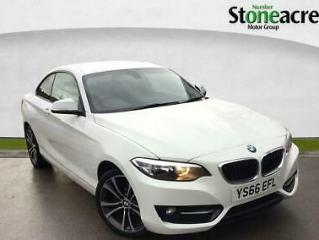 2016 BMW 2 Series 218d Sport Coupe