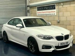 2016 BMW 2 Series 2.0 218d M Sport Coupe 2dr Diesel Manual s/s