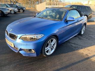 BMW 2 Series 2.0TD M Sport Convertible 2016, 32082 miles, £13491