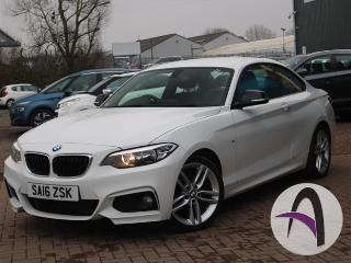 BMW 2 Series Coupe 218d 2.0 M Sport 2dr Auto Coupe 2016, 36079 miles, £13999