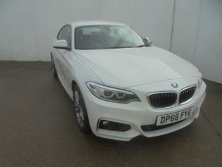 BMW 2 Series 218i M Sport 2dr [Nav] Coupe 2016, 24169 miles, £14379